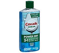 Cascade Platinum Rinse Aid Bottle - 16 Fl. Oz.
