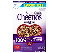 Cheerios Cereal Multi Grain Lightly Sweetened Box - 12 Oz