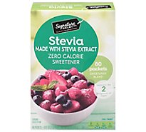 Signature SELECT Sweetener Stevia Extract Packets - 80 Count
