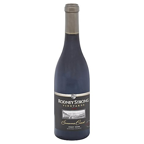 Rodney Strong Vineyards Wine Pinot Noir Sonoma Coast 2016 - 750 Ml