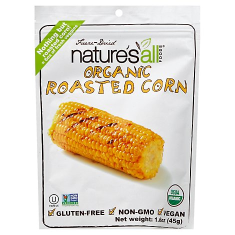 Natures All Foods Roasted Corn Organic - 1.6 Oz