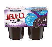 Jell-O Pudding Snacks Sugar Free Dark Chocolate - 4-3.62 Oz