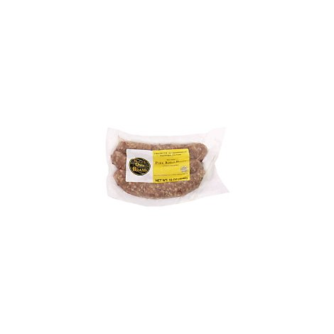 Rays Own Brand Pork Apple Honey Sausage - 16 Oz