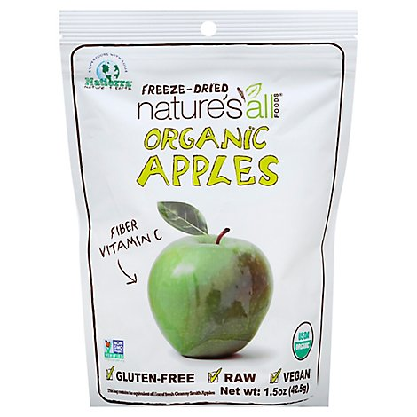 Natures All Foods Dried Apples Organic - 1.5 Oz