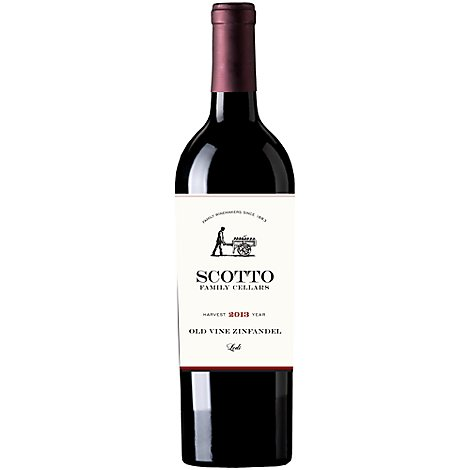 Scotto Family Old Vine Zinfandel Wine - 750 Ml