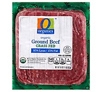 O Organics Organic Ground Beef 85% Lean 15% Fat - 16 Oz.