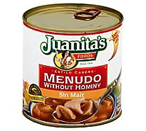 Juanitas Foods Menudo Without Hominy Can - 29.5 Oz