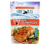 Orca Bay Fish Salmon Keta Fillets - 10 Oz