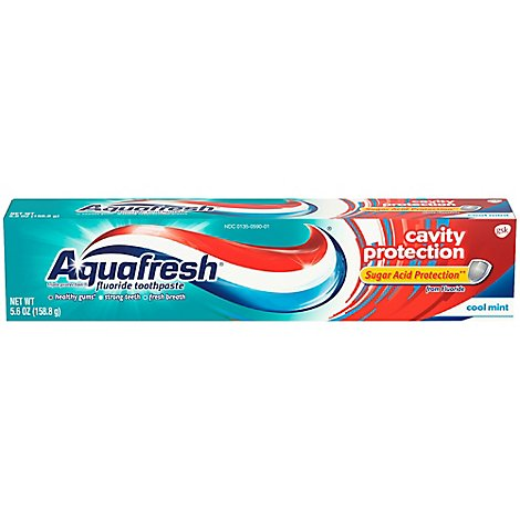 Aquafresh Toothpaste Triple Protection - 5.6 Oz