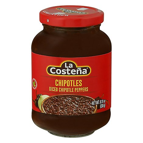 La Costena Chipotles Diced Can - 8.11 Oz