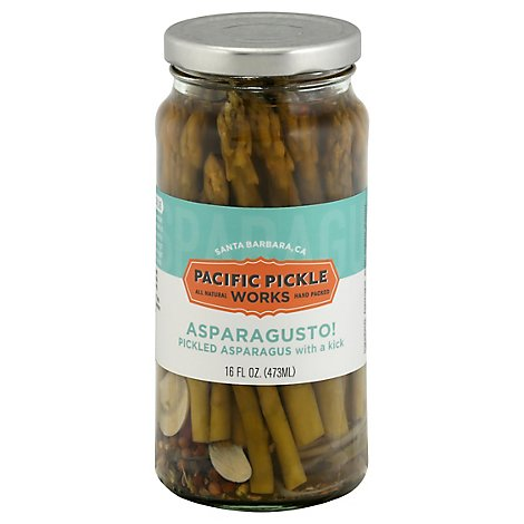 Pacific Pickle Works Pickled Asparagus Asparagusto Spear Spicy - 16 Fl. Oz.