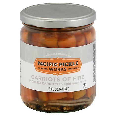 Pacific Pickle Works Pickled Carrot Carriots Of Fire - 16 Fl. Oz.