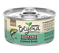 Beyond Cat Food Wet Grain Free Ocean Whitefish & Spinach - 3 Oz