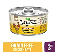 Beyond Cat Food Grain Free Pate Chicken & Sweet Potato Recipe Can - 3 Oz