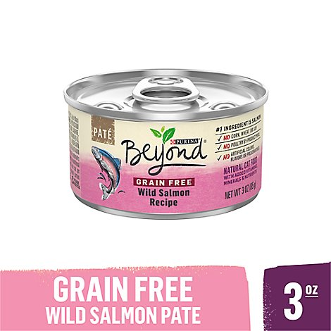 Beyond Cat Food Wet Grain Free Wild Salmon - 3 Oz