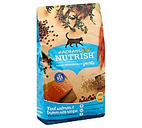 Rachael Ray Nutrish Dry Cat Food Super Premium Real Salmon & Brown Rice Recipe - 3 Lb