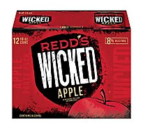 Redds Wicked Apple Ale Beer Cans 8% ABV - 12-10 Fl. Oz.