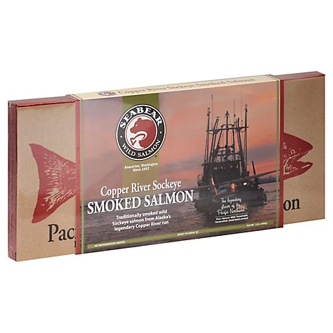 SeaBear Smoked Salmon Copper River Sockeye - 16 Oz