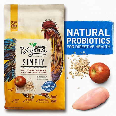 Beyond Cat Food DrySimply White Meat Chicken & Whole Oat Meal - 3 Lb