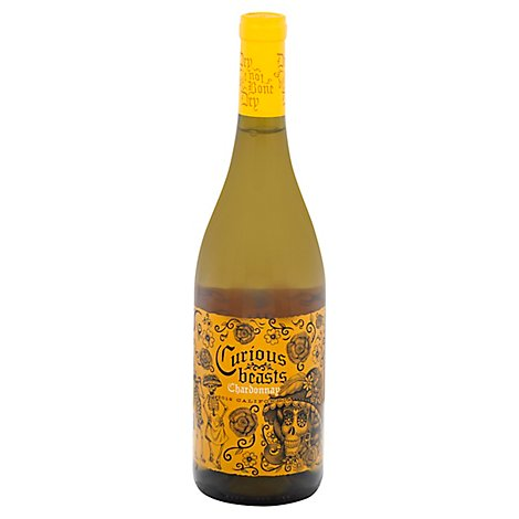 Curious Beasts Chardonnay Wine - 750 Ml
