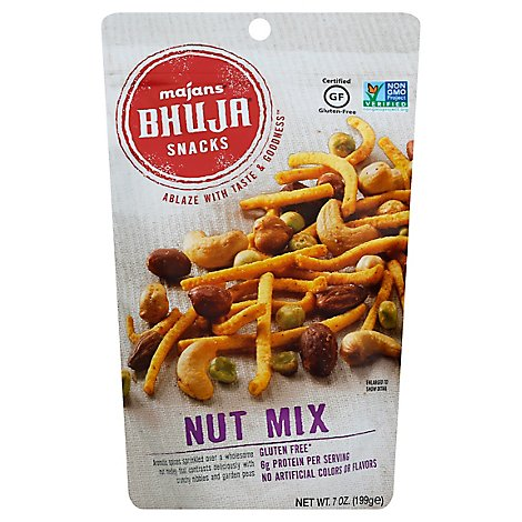 Majans Bhuja Snacks Nut Mix - 7 Oz
