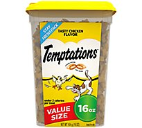TEMPTATIONS Classic Cat Treats Tasty Chicken Flavor - 16 Oz