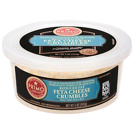 Primo Taglio Cheese Feta Crumbles Reduced Fat - 5 Oz