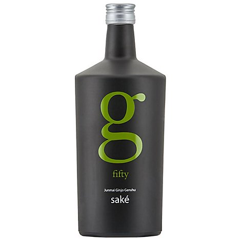 G Fifty Junmai Genshu Sake Wine - 750 Ml