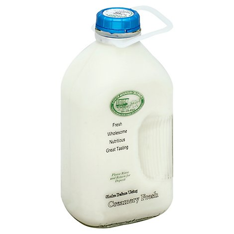 South Mountain Creamery Milk Reduced Fat 2% Half Gallon - 64 Fl. Oz.