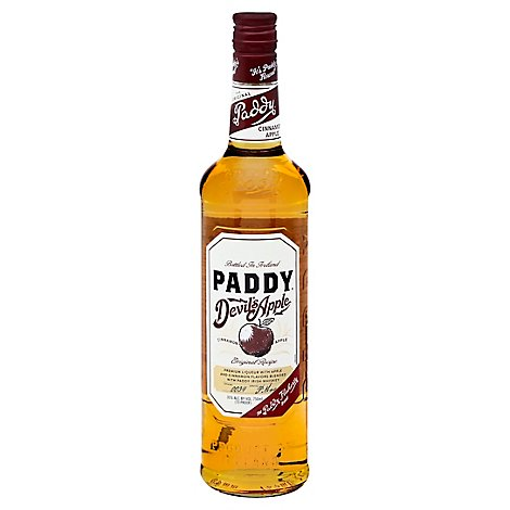 Paddys Whiskey Devils Apple 70 Proof - 750 Ml