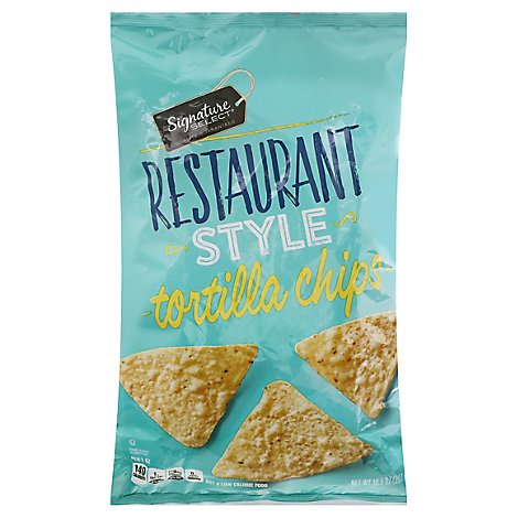 Signature SELECT Tortilla Chips Restaurant Style - 10.5 Oz