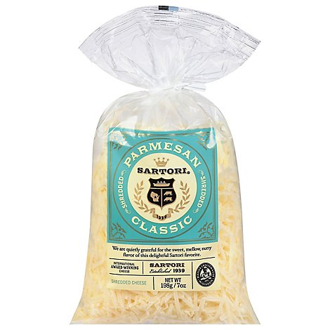 Sartori Cheese Parmesan Cheese Shredded - 8 Oz