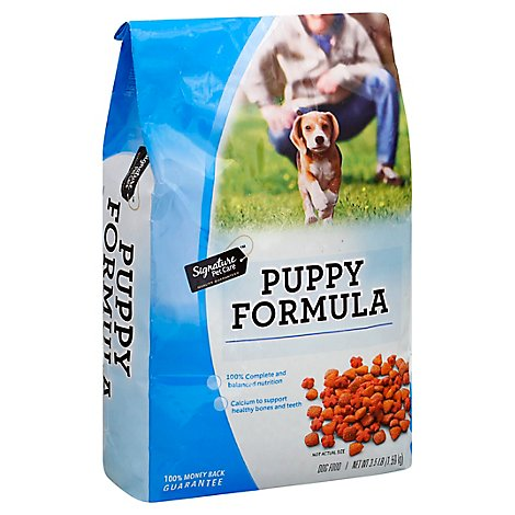 Signature Pet Care Dog Food Puppy Formula Bag - 3.5 Lb