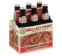 Ballast Point Sculpin Grapefruit IPA Craft Beer Bottles 7.0% ABV - 6-12 Fl. Oz.