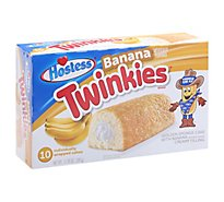 Hostess Twinkies Sponge Cake with Creamy Filling Banana Creamy  - 13.58 Oz