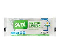 Evol Burrito Lean & Fit Egg White & Spinach - 5 Oz