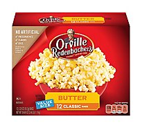 Orville Redenbachers Popping Corn Gourmet Butter - 12-3.29 Oz