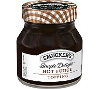 Smuckers Simple Delight Topping Hot Fudge - 11.5 Oz