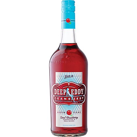 Deep Eddy Vodka Cranberry Flavored 70 Proof - 750 Ml