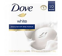 Dove Beauty Bar with Deep Moisture White - 10-4 Oz