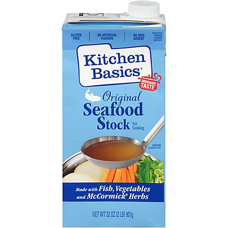 Kitchen Basics Stock Original Seafood - 32 Fl. Oz.