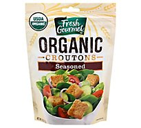Fresh Gourmet Croutons Seasoned Organic - 4.5 Oz