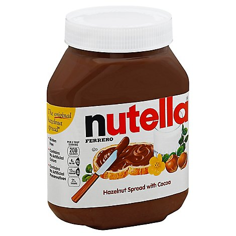 Nutella Spread Hazelnut with Cocoa - 35.3 Oz