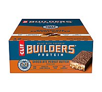CLIF Builders Protein Bar Chocolate Peanut Butter - 12-2.4 Oz