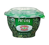 Gourmet Garden Organic Parsley Lightly Dried - 0.35 Oz