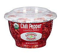 Gourmet Garden Chili Pepper Lightly Dried Bowl - .77 Oz