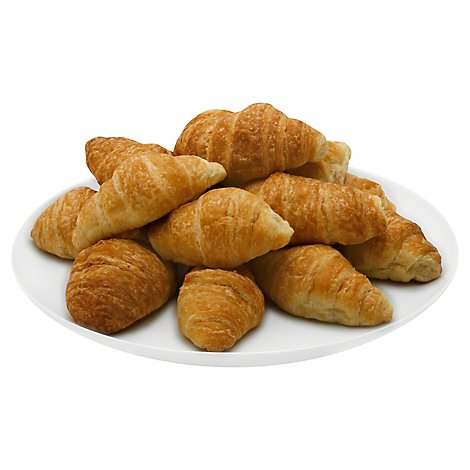 Bakery Croissant Mini Butter Wheat 15 Count - Each