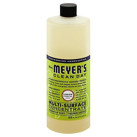 Mrs. Meyers Clean Day Multi-Surface Concentrate Lemon Verbena Scent 32 ounce bottle