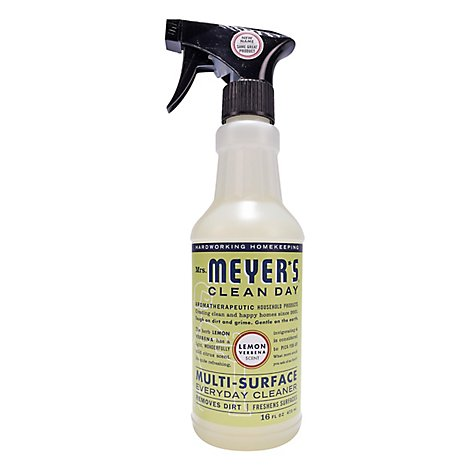Mrs. Meyers Clean Day Multi-Surface Everyday Cleaner Lemon Verbena 16 ounce bottle