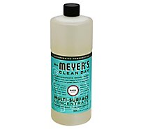 Mrs. Meyers Clean Day Multi-Surface Concentrate Basil Scent 32 ounce bottle